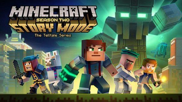 Minecraft Story Mode Season Veröffentlicht SPIELEWIESELNET - Minecraft zu 2 spielen xbox